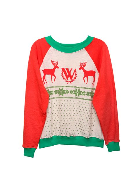 """<p><a href=""""http://www.asos.com/wildfox/wildfox-baggy-beach-sweatshirt-with-christmas-reindeer-print/prod/pgeproduct.aspx?iid=4644407&clr=Beige&SearchQuery=wildfix&pgesize=203&pge=1&totalstyles=203&gridsize=3&gridrow=33&gridcolumn=1"""" target=""""_blank"""">Wildf"""