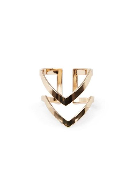 "<p>This chevron ring is on Acting Commissioning Editor Georgia Simmonds' shopping list.</p>  <p><a href=""http://www.warehouse.co.uk/double-cheuron-open-ring/all/warehouse/fcp-product/02248090"" target=""_blank"">Warehouse</a> ring, £8</p>"