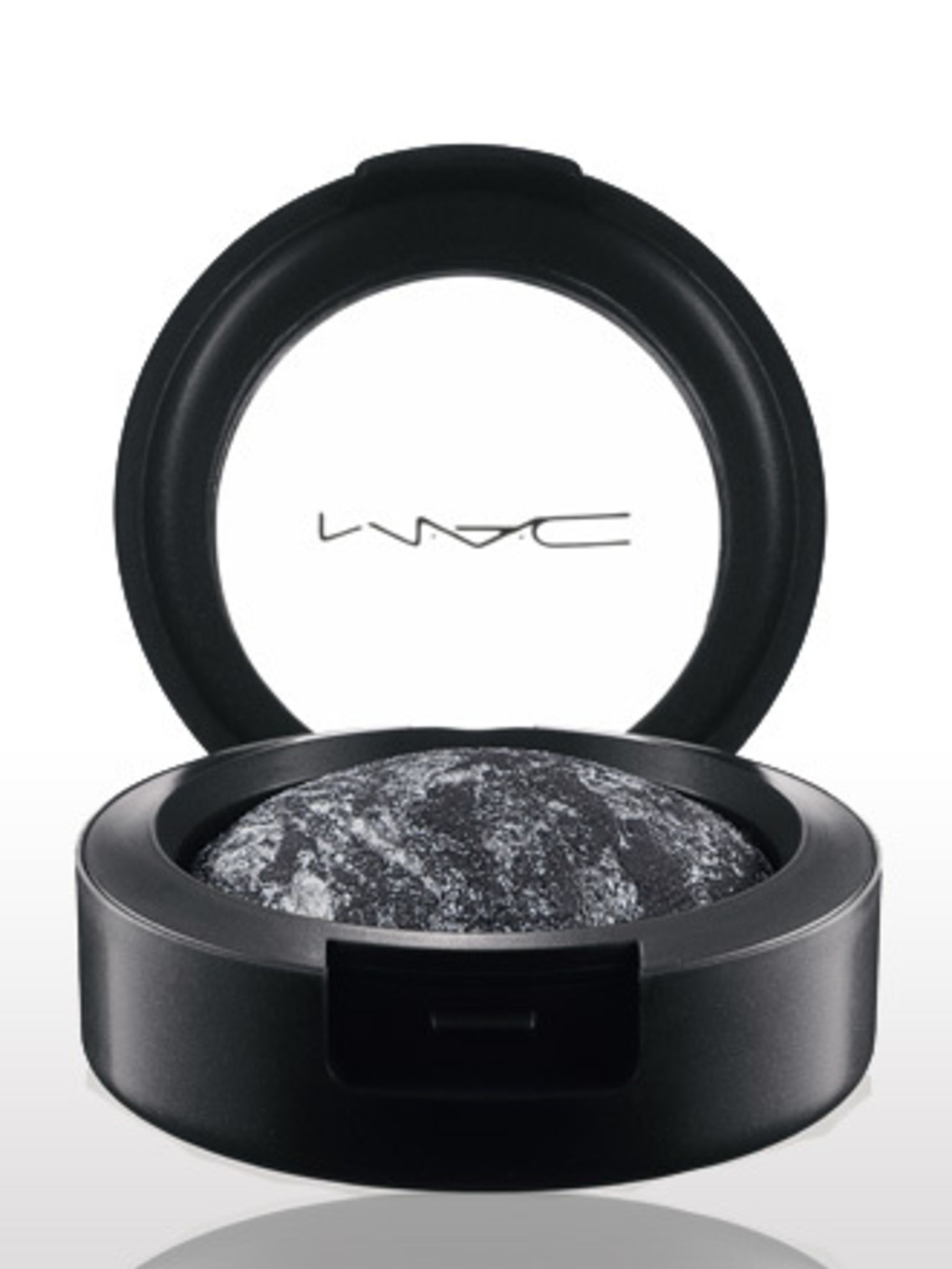 "<p>Style Black Mineralize Eye Shadow in Cinderfella, £15, by <a href=""http://www.maccosmetics.co.uk/product/spp.tmpl?CATEGORY_ID=CAT21850&PRODUCT_ID=PROD71028"">MAC</a></p>"