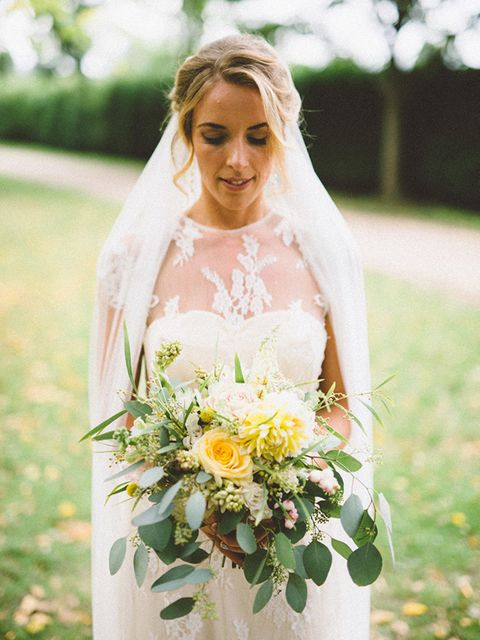 """<p>My wedding dress was from this great place, <a href=""""http://www.blackburnbridal.co.uk/"""" target=""""_blank"""">Blackburn Bridal</a> in Blackheath.I wanted something flattering with a vintage edge, and they had some amazing dresses by a designer called <a hre"""