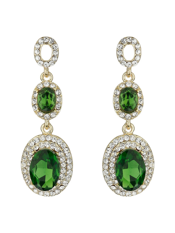 Emerald Green Drop Earrings Uk Jewelry
