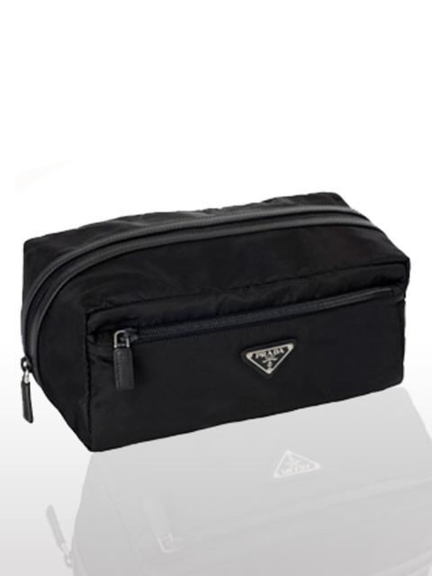 """<p>Make-up Bag, £130 by <a href=""""http://www.prada.com/buy-online/?countryid=16%E2%8C%A9=en"""">Prada</a></p><p>The elleuk.com team love Prada's functional, yet chic make-up bags. </p>"""