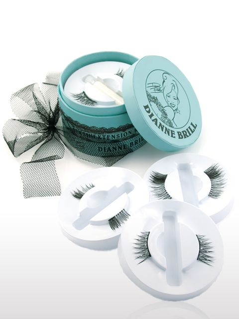 <p>False Lashes, £28 by Dianne Brill at Harvey Nichols. For stockists call 0207 235 5000.</p><p>Three pairs of false lashes, one miniature hat box. What could be cuter?</p>
