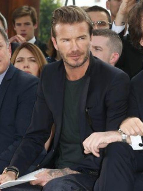<p>David Beckham</p>