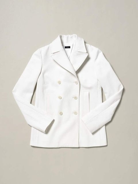 <p>Crisp white tailoring at its best. </p><p>Joseph jacket, £273</p>