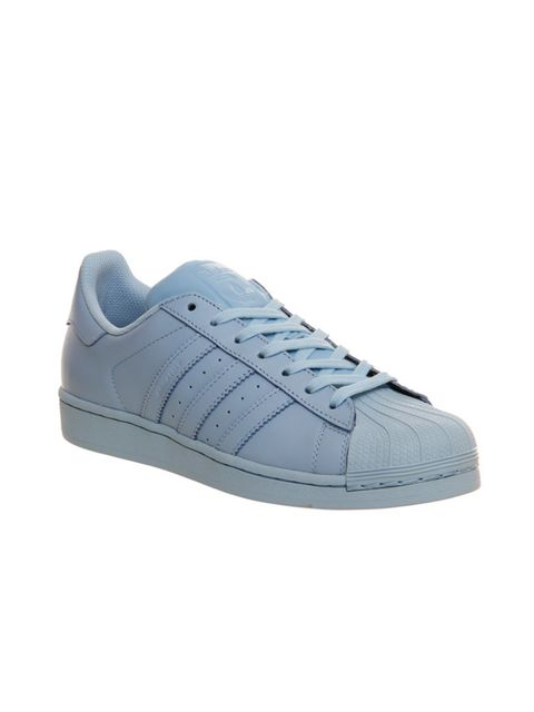 "<p>Adidas <span style=""line-height:1.6"">Superstar </span><span style=""line-height:1.6"">Supercolour Clear Sky Blue, £66.99 at <a href=""http://www.office.co.uk/view/product/office_catalog/5,22/2114633660"" target=""_blank"">office.co.uk </a></span></p>"