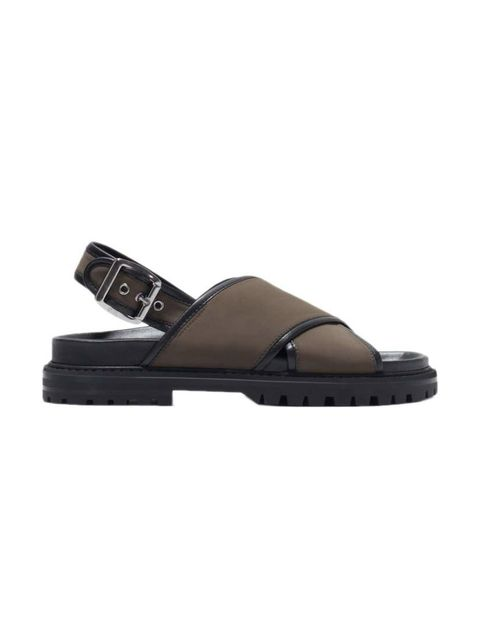 "<p>These chunky sandals made Accessories Editor Donna Wallace's cut.</p>  <p><a href=""http://www.zara.com/uk/en/new-this-week/woman/cross-strap-fabric-footbed-sandals-c363008p2636042.html"" target=""_blank"">Zara</a> sandals, £49.99</p>"