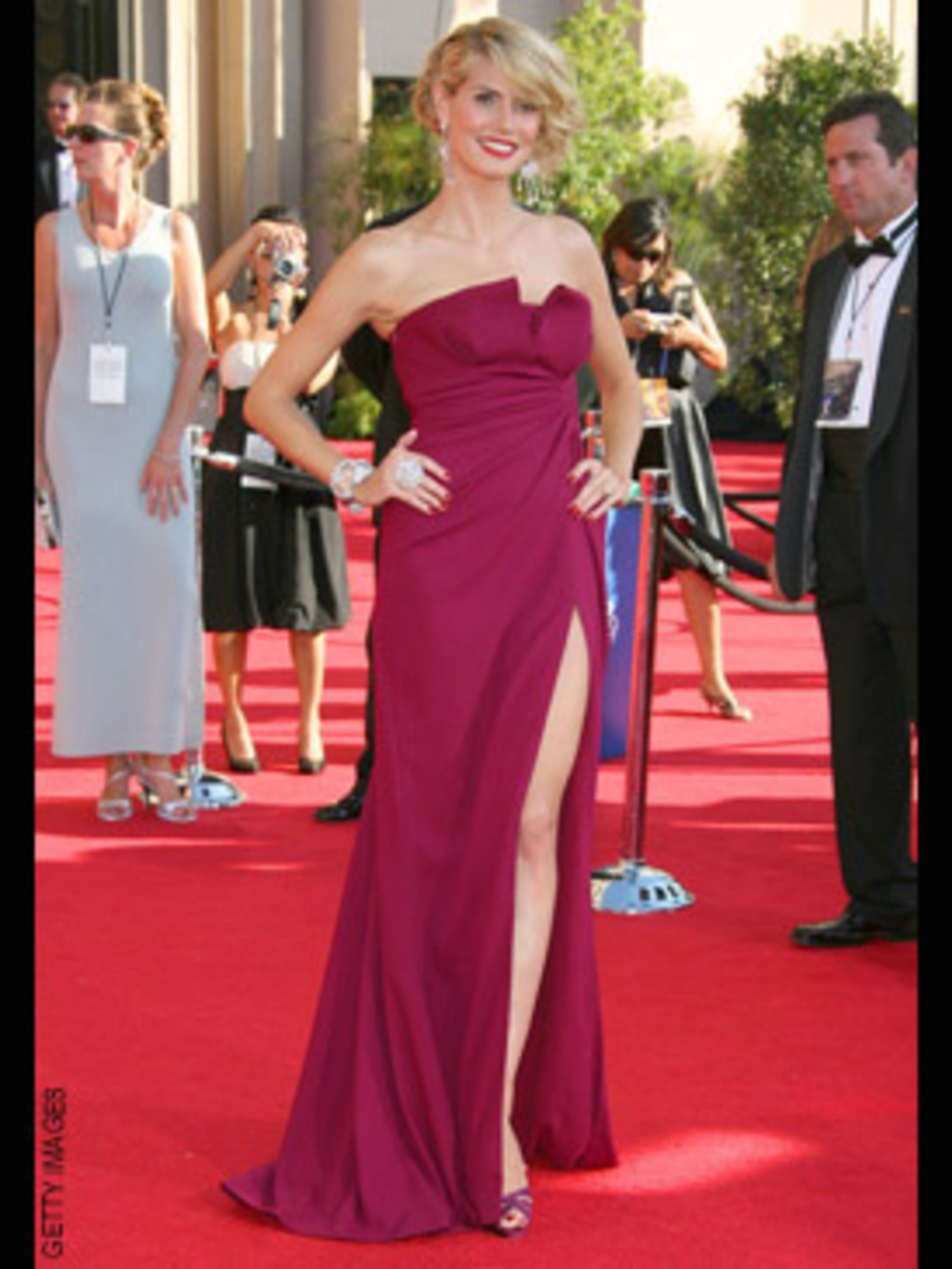 <p>Heidi Klum in Dior by John Galliano </p>
