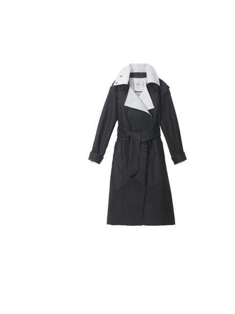 """<p><a href=""""http://www.bimbaylola.es/selector_idioma.php"""">Bimba & Lola</a> coat, £430</p>"""
