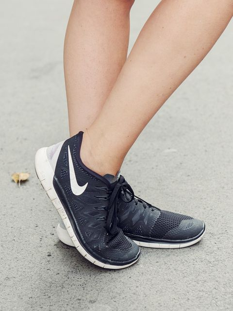 <p>Kirsty Dale - Executive Fashion & Beauty Director</p><p>Nike trainers.</p>
