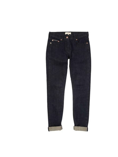 "<p>A classic pair of blue selvedge jeans should be in everyone's wardrobe - this pair is on Creative Director Suzanne Sykes' shopping list.</p><p><a href=""http://www.youmustcreate.com/products/aw13-ymc-skirtsandtrousers/selvedge-jean-3/"">YMC</a> jeans, £1"