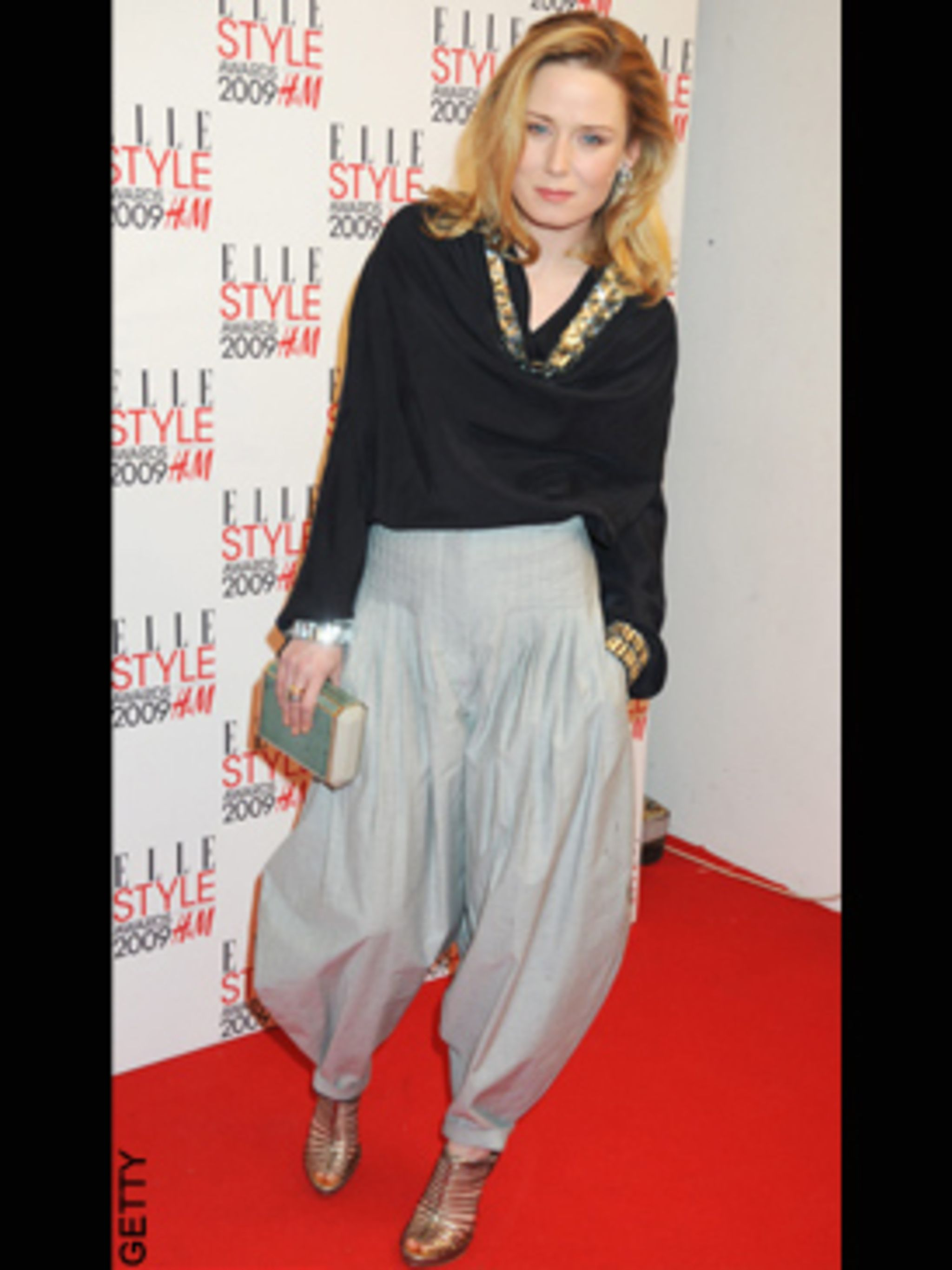 <p>Roisin Murphy in Givenchy and Armand Basi One</p>