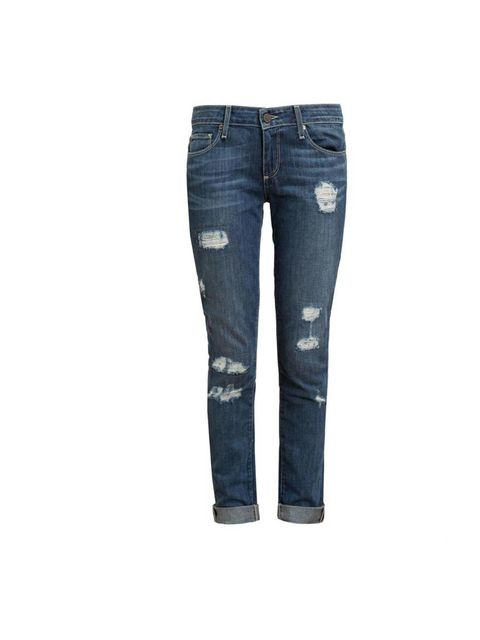 "<p>A pair of jeans is always a safe bet.</p><p>These Paige denim are available at <a href=""http://www.brownsfashion.com/product/018332710002/034/jimmy-jimmy-skinny-distressed-jeans"">Browns</a>, £260</p>"