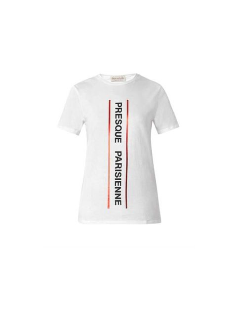 """<p>A graphic Tee is an easy layering piece</p>  <p>Etre Cécile, £75 available at <a href=""""http://www.matchesfashion.com/product/199045"""">Matches</a></p>"""