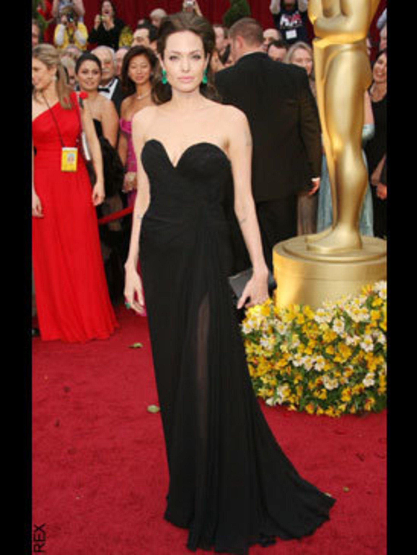 <p>Angelina Jolie in Elie Saab</p>