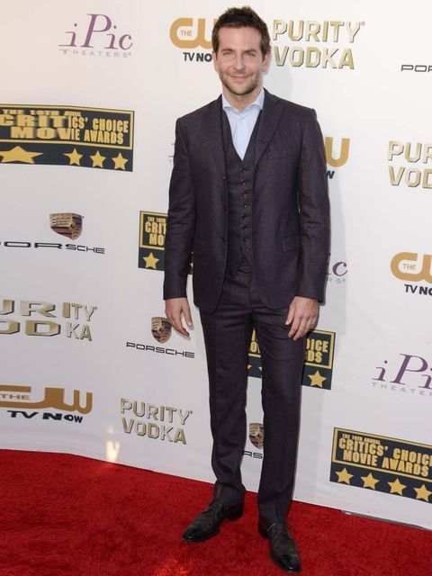 "<p><a href=""http://www.elleuk.com/star-style/celebrity-style-files/bradley-cooper-elle-man-of-the-week"">Bradley Cooper</a> wears a Bottega Veneta <em>Quetsche </em>suit to the 19th Annual Critics' Choice Movie Awards 2014. </p>"