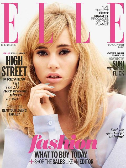 <p>A. Suki Waterhouse </p>