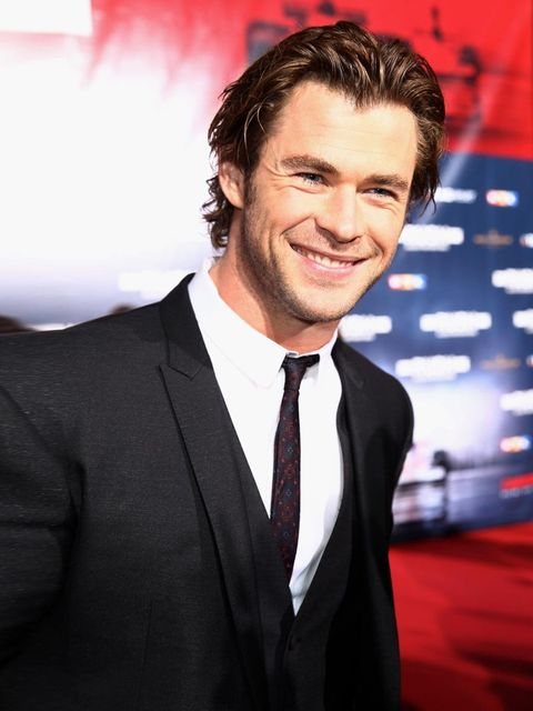 <p>We love the smile, we love the eyes, we love the hair and we LOVE the tie.</p>