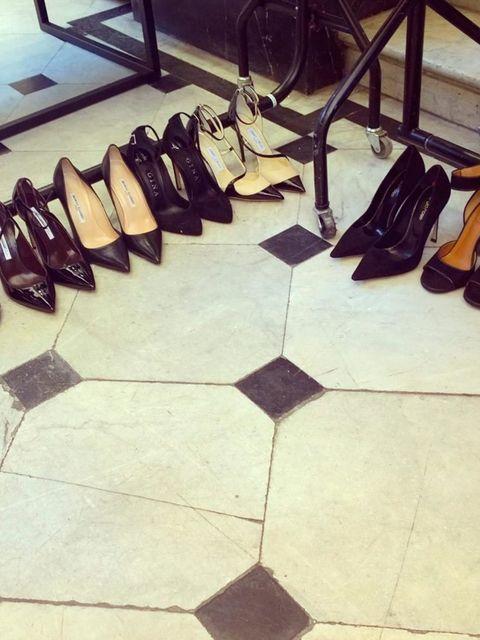 <p>Shoes, glorious shoes.</p>