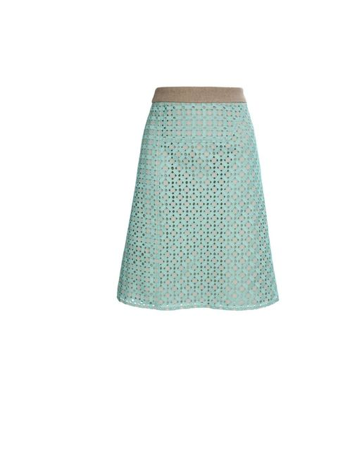 """<p>Derek Lam embroided skirt, £780, at <a href=""""http://www.brownsfashion.com/Product/Exclusive_Embroidered_and_perforated_skirt/Product.aspx?p=3615349"""">Browns Fashion</a></p>"""