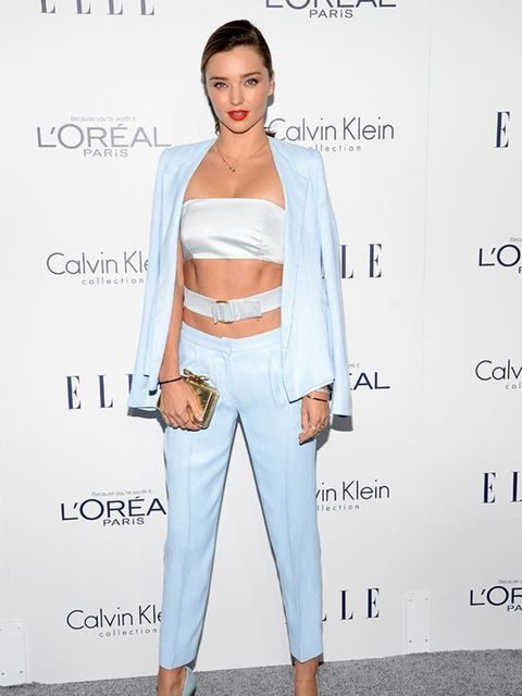 Miranda Kerr attends the 22nd Annual ELLE Women in Hollywood event in LA, October 2015.