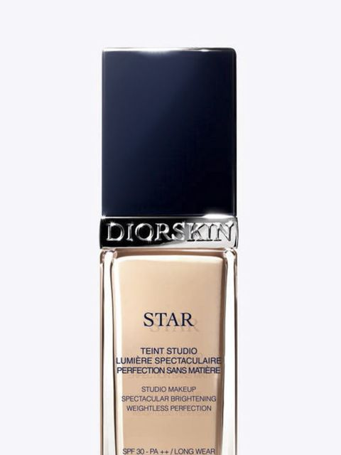 <p>This foundation is like a second skin. Dab it on your forehead, chin, cheeks and down the bridge of your nose, then blend outwards with your fingers or a face brush. Diorskin Star, £32.50</p>