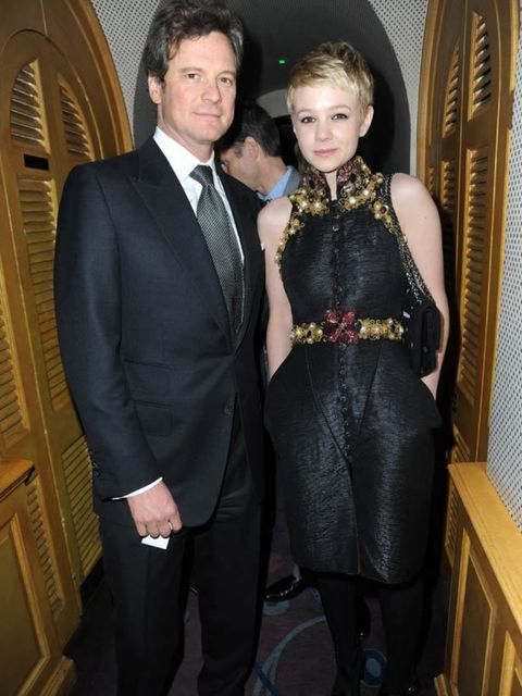 <p>Carey Mulligan &amp; Colin Firth </p>