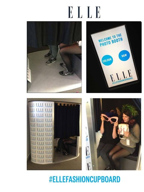 "<p><a href=""http://www.elleuk.com/style/what-elle-wears"">Team ELLE</a> is split down the middle when it comes to taking a selfie. But introduce their very own photo booth to a very busy office and there forms a not-so-orderly queue. The <a href=""https://t"