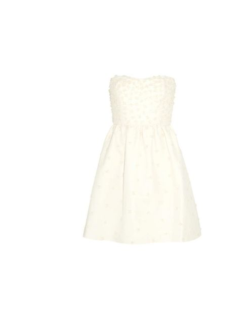 "<p>J.Crew pearl appliqué dress, was £700 now £210, at <a href=""http://www.net-a-porter.com/product/354514"">Net-a-Porter</a></p>"