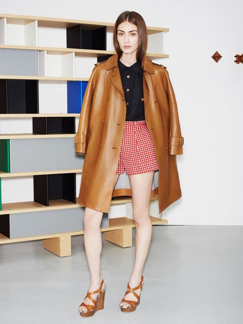 <p>The Louis Vuitton Icons Collection s/s 2014, inspired by Charlotte Perriand. Look 13.</p>