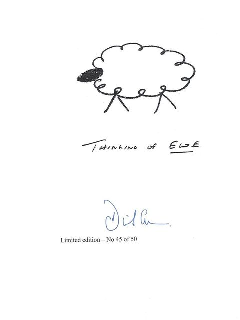 <p>David Cameron: An edition of Cameron's 'Thinking of Ewe' sketch.</p>