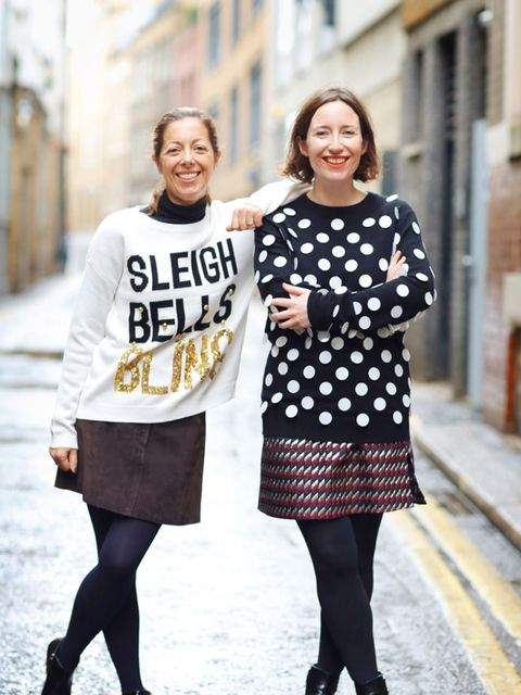 """<p>Kirsty Dale, Executive Fashion & Beauty Director and Michelle Duguid, Senior Fashion Editor.</p>  <p>Kirsty wears<a href=""""http://www.newlook.com/shop/womens/christmas-shop_4050013?intcam=INT-2015-16-WK37-HOME-ZBck-0011"""" style=""""line-height: 1.6;"""" targe"""