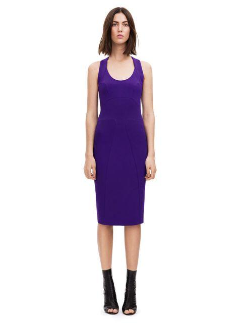 <p>Halter neck fitted dress, £1,295. Original Season: Spring/Summer 2011, Dress N° 85</p>
