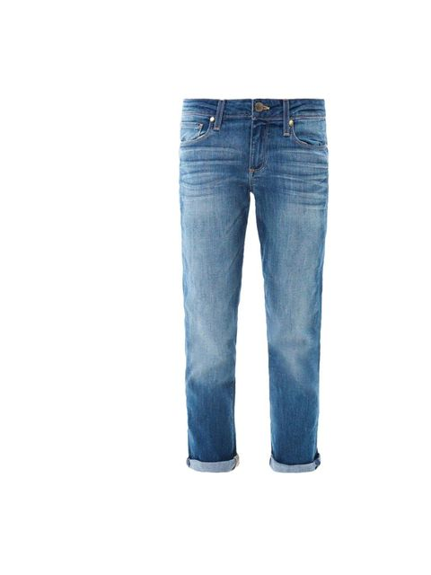 "<p>Less runway, more street-style, work a cool silhouette with a pair of boyfriend jeans, Paige Denim jeans, £180, at <a href=""http://www.matchesfashion.com/product/155329"">Matches Fashion</a></p>"