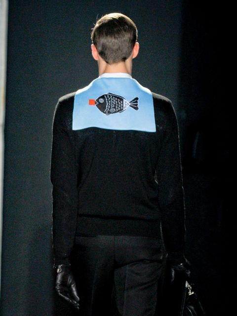 <p>A look from the Jil Sander A/W '12 menswear show.</p>