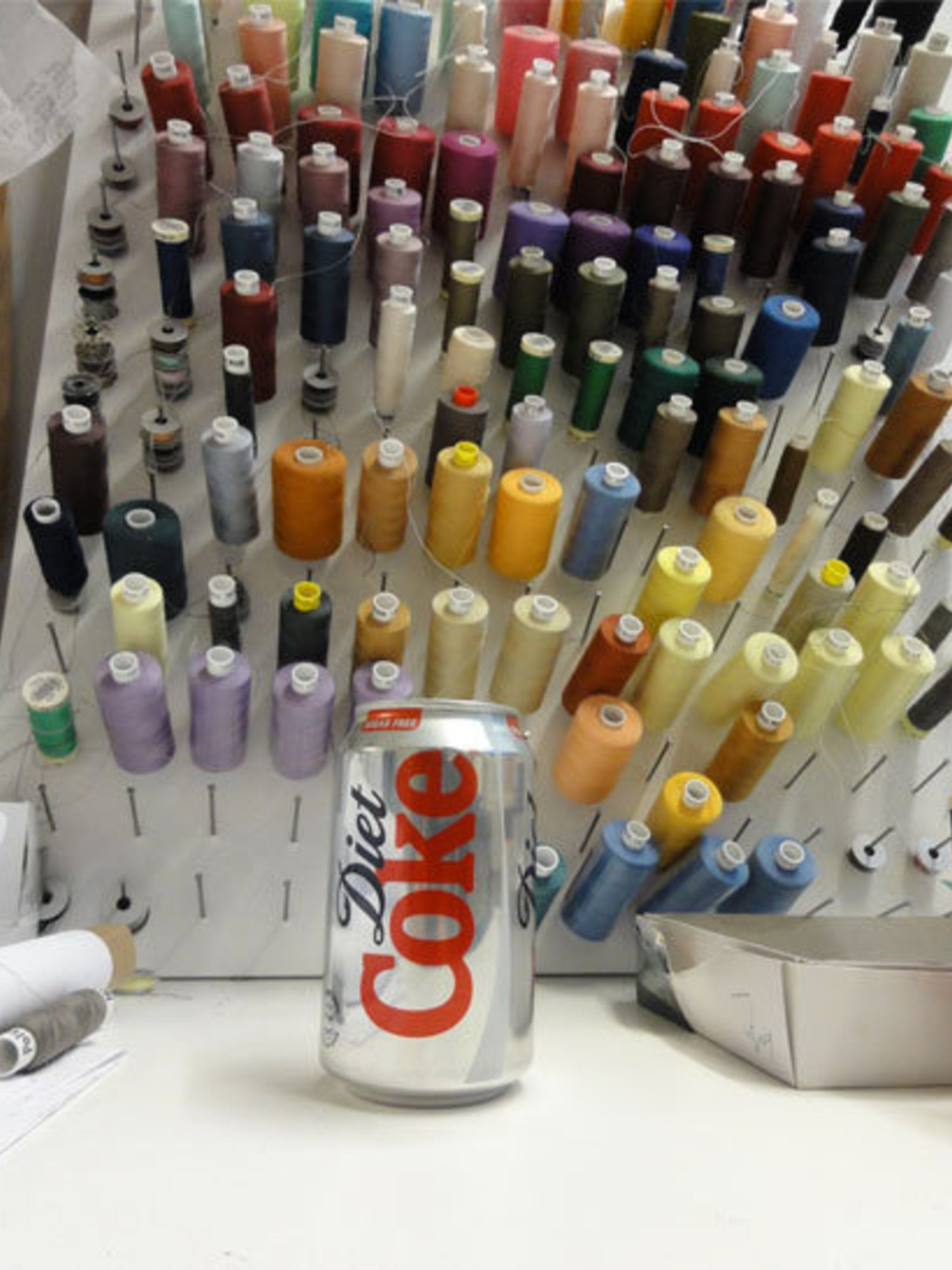 "<p><a href=""http://www.elleuk.com/catwalk/designer-a-z/antipodium/autumn-winter-2012"">Antipodium</a>, fashion brand: 'The one thing that Geoffrey (or most of our office for that matter) CANNOT do without during LFW....Diet Coke.'</p>"