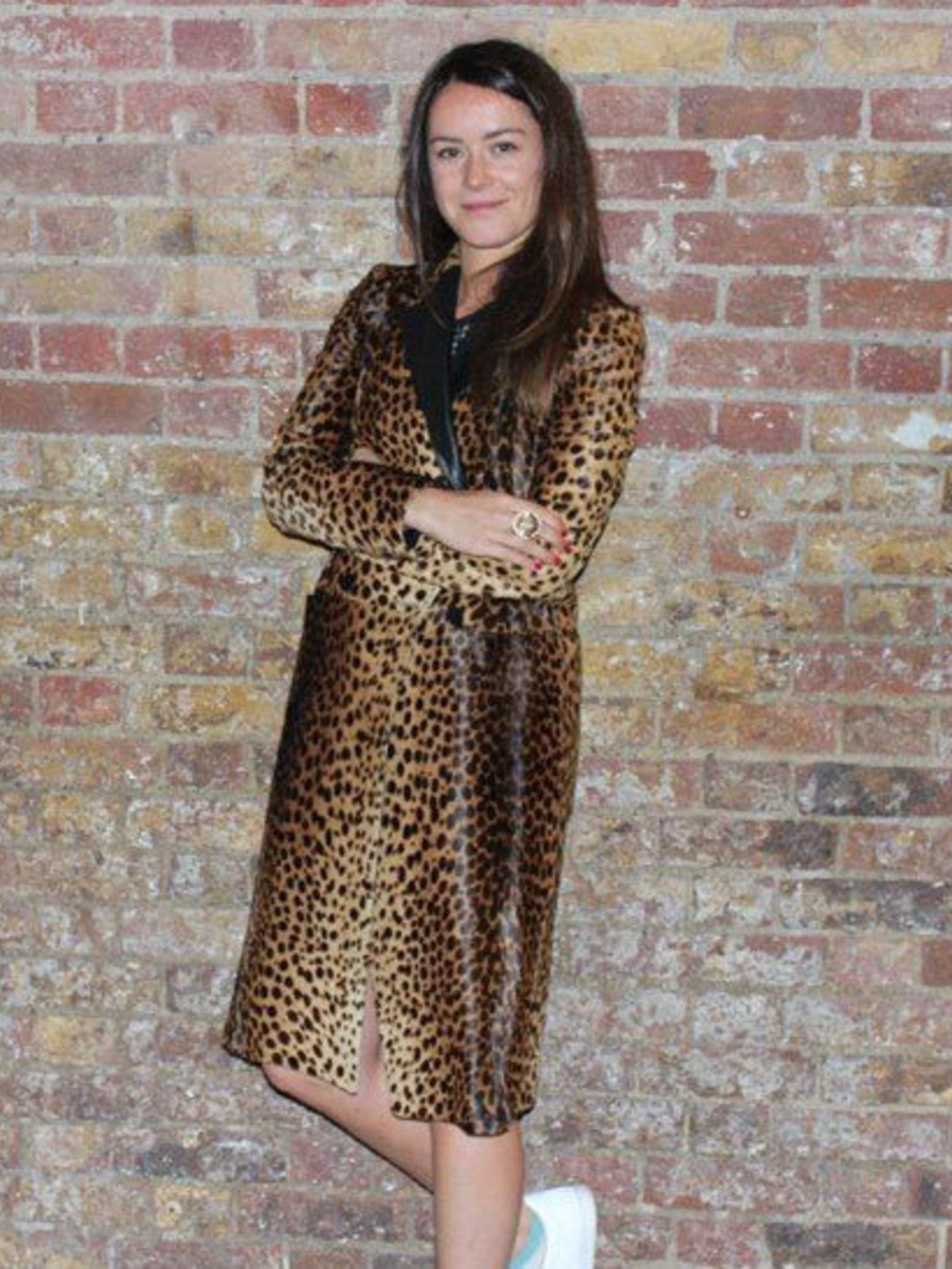 """<p>Alex Eagle, <a href=""""http://www.elleuk.com/content/search?SearchText=Joseph&amp&#x3B;SearchButton=Search+Again"""">Joseph</a> global PR: 'I love the JOSEPH Leopard coat because it is chic, warm, cool and fun and everything you could want possibly want in a coa"""