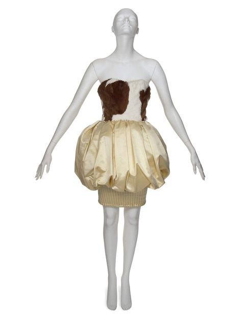 <p>A Christian Lacroix bubble dress in the Daphne Guinness auction</p>