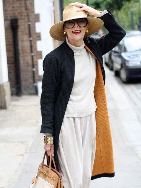 <p>Gitte Lee on Advanced Style</p>