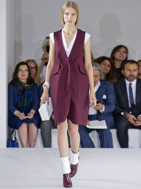 <p>Jil Sander catwalk, spring summer 13, Milan Fashion Week</p>