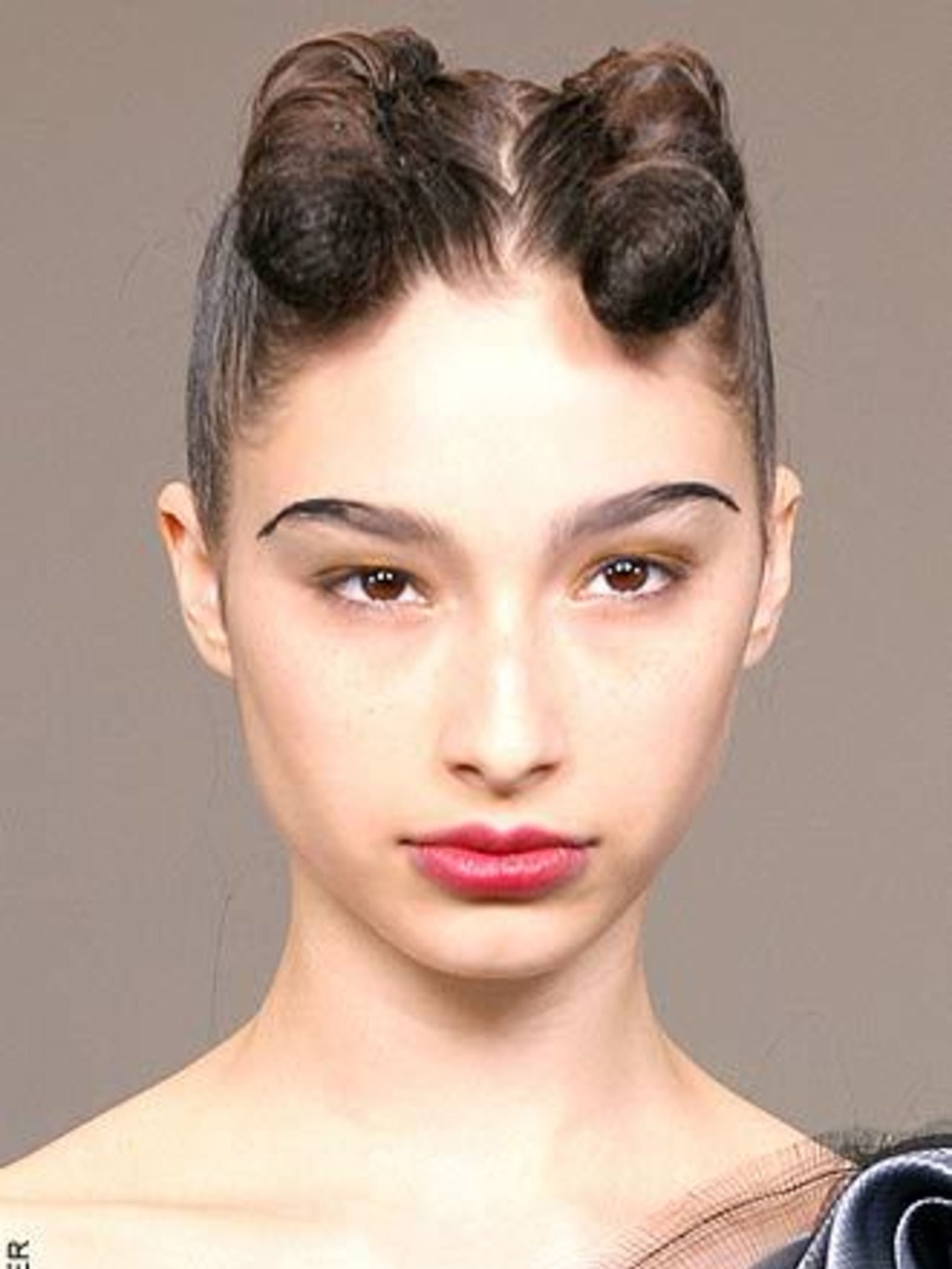 <p>TwistsTwists, plaits and 'rolled' hair were all over the London catwalks and proves how London is always pushing the envelope – just look at Roksanda Ilincic and Todd Lynn for proof. At Todd Lynn, the front section of hair was rolled around wadded nett