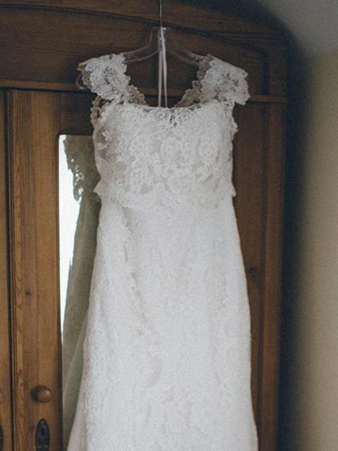 """<p>After some searching I found my wedding dress in a beautiful bridal boutique in rural Shropshire, <a href=""""http://www.shropshirebrides.co.uk/"""" target=""""_blank"""">Shropshire Country Brides</a>.</p>"""