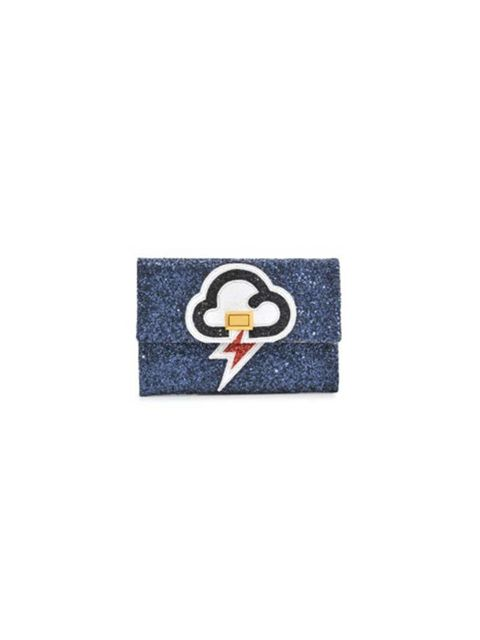 """<p>This is your bank holiday weather report...</p>  <p>Anya Hindmarch clutch, £395 at <a href=""""http://www.monnierfreres.co.uk/valorie-lightning-clutch-HIN003017-uk.html"""" target=""""_blank"""">Monnier Frères</a></p>"""