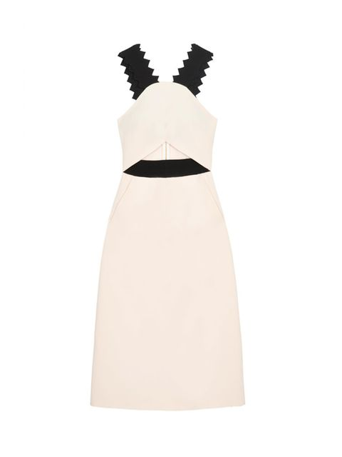 "<p>Self Portrait dress, £230 at <a href=""http://www.selfridges.com/en/self-portrait-cut-out-crepe-dress_236-3003847-SP5033/?previewAttribute=White"" target=""_blank"">Selfridges.com</a></p>"