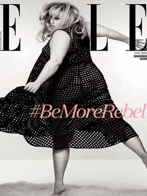 "<p><a href=""http://www.elleuk.com/now-trending/rebel-wilson-covers-elle-uk-may-2015-issue"" target=""_blank"">Rebel Wilson</a> wearing ASOS Curve on ELLE subscriber cover.</p>"