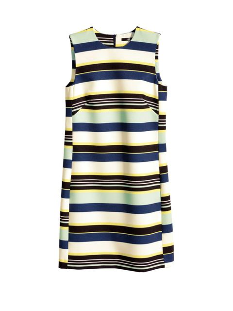 """<p><a href=""""http://www.hm.com/gb/product/88797?article=88797-B"""" target=""""_blank"""">H&M</a> dress, £24.99</p><p><a href=""""http://www.elleuk.com/promotion/twenty-percent-discount-card-hm-elle-magazine-may-2015"""">Get 20% off at H&M with your May issue of ELLE</"""