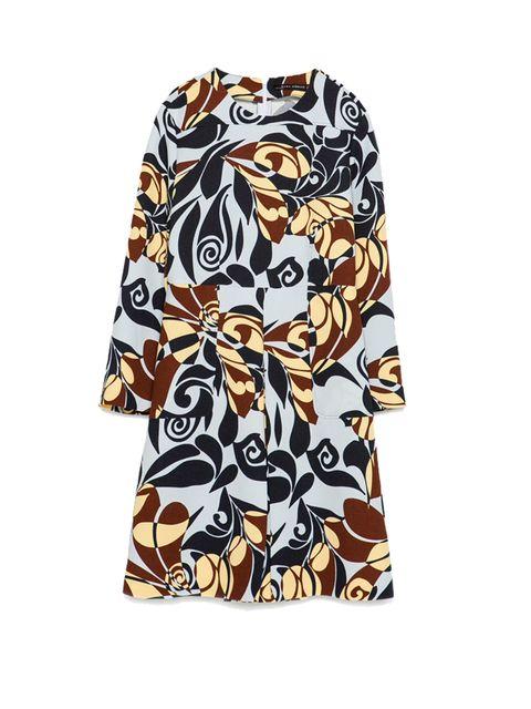 "<p><a href=""http://www.zara.com/uk/en/woman/dresses/view-all/printed-dress-c719020p2591030.html"" target=""_blank"">Zara</a> dress, £59.99</p>"