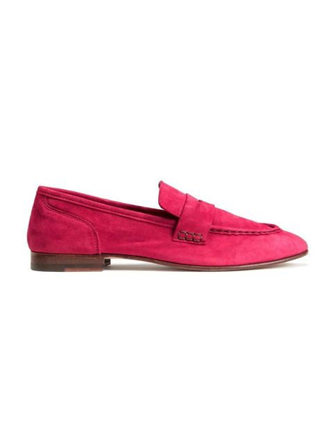 """<p>Senior Fashion Editor Michelle Duguid will pair these suede loafers with a <a href=""""http://www.elleuk.com/fashion/what-to-wear/elle-edits-jumpsuits-how-to-wear"""">denim jumpsuit</a>.</p><p><a href=""""http://www.hm.com/gb/product/89005?article=89005-A"""" ta"""