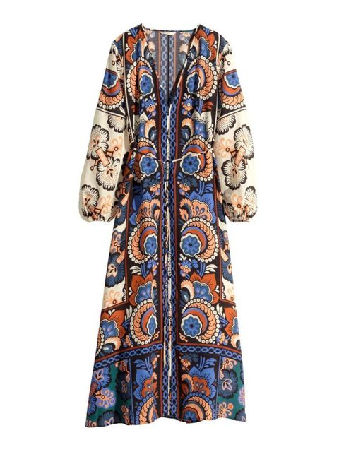 """<p>This printed maxi is Digital Director (and not so secret hippy) Phebe Hunnicutt's pick.</p><p><a href=""""http://www.hm.com/gb/product/85095?article=85095-A"""" target=""""_blank"""">H&M</a> dress, £49.99</p>"""