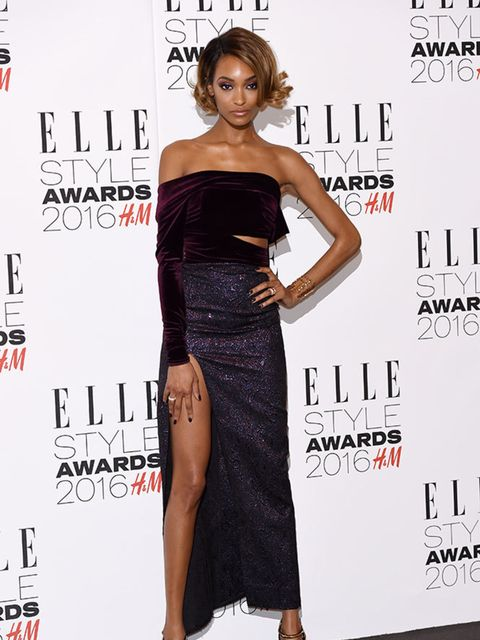 <p>Jourdan Dunn wearing Emilio de la Morena at the ELLE Style Awards 2016 in London, February 2016</p>
